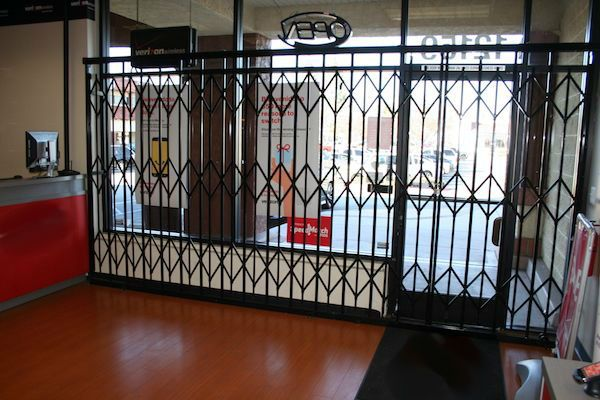 Storefront Security Window Gates 0