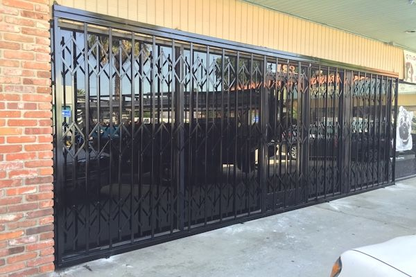 Storefront Security Window Gates 1