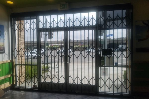 Storefront Security Window Gates 3