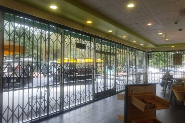 Storefront Security Window Gates 4