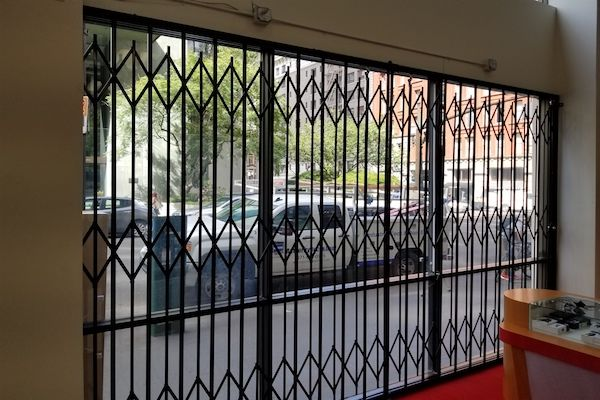 Storefront Security Window Gates 6